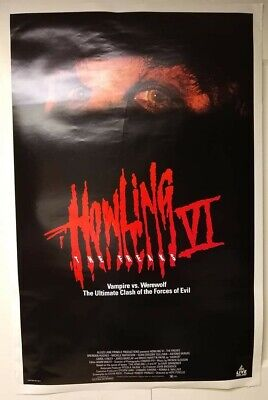 $ CDN26.51 • Buy Movie Posters, The Howling VI The Freaks, Has Some Wear And Tear, Check Poster!