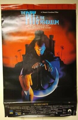$ CDN76.20 • Buy Movie Posters, The Pit And The Pendulum, Cool Horror Movie, Some Wear And Tear!