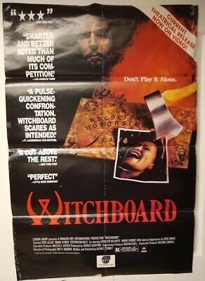 $ CDN26.51 • Buy Movie Posters, Witchboard, Pretty Cool Poster, Has Some Flaws, Check Picture!!!!