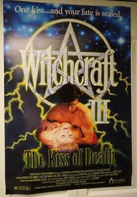 $ CDN68.93 • Buy Movie Posters, Witchcraft III, Cool Poster, Has Some Flaws But Still Very Nice!