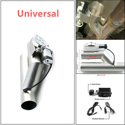 $ CDN149.56 • Buy 76mm Exhaust Control E-Cut Out Valve Electric Y Pipe With Remote Kit 3  Inch New