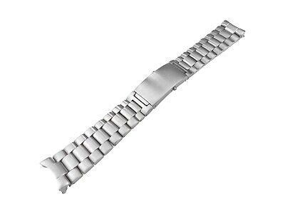 22mm Solid Stainless Steel Strap Bracelet Compatible With OMEGA SeaMaster Watch • 34.90£