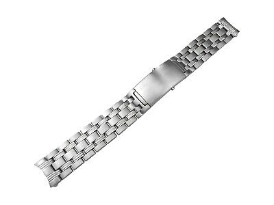 18mm Solid Stainless Steel Strap Bracelet Compatible With OMEGA SeaMaster Watch • 34.50£
