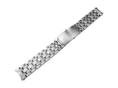 20mm Solid Stainless Steel Strap Bracelet Compatible With OMEGA SeaMaster Watch • 34.50£