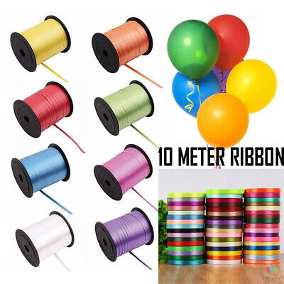 $5.63 • Buy 5 Mm Curling Ribbon Polypropleyne 10 METER Perfect For Balloons & Gift Wrapping