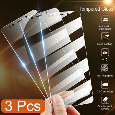 AU6.12 • Buy 3pcs 9H Real Tempered Glass Screen Protector HD Premium Full Cover For Xiaomi