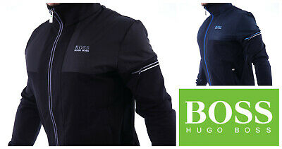 a8603d1bb2597 HUGO BOSS Tracksuit Jacket Zip Top Bottoms Pants Sweats Black Navy Green  Label • 83.85$