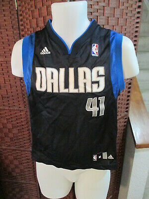$ CDN10 • Buy Dirk Nowitzki Dallas Mavericks NBA Adidas Basketball Jersey Youth Medium 10-12