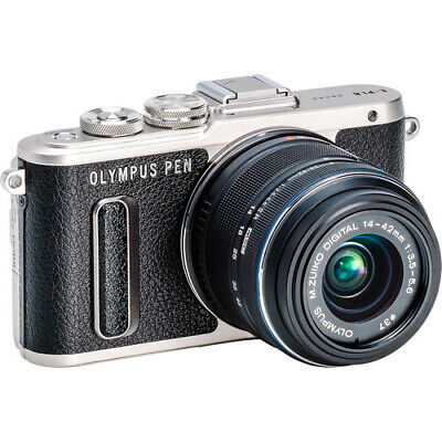 View Details Olympus PEN E-PL8 Mirrorless Camera In Black With 14-42mm R Lens • 299.90£