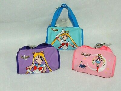 $8.75 • Buy New Sailor Moon  Lot Of 3- Coin Bags , With Tags --blue Purple & Pink From 1999