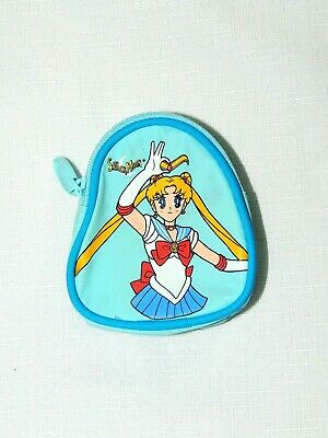$3.49 • Buy New Sailor Moon- With Tags 1-blue Coin Purse Bag From 1999-  3 1/4  X 3
