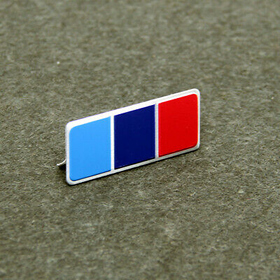 AU12 • Buy Mini BMW M-Stripes Emblem Car Badge Metal Sticker M3 M5 X1 X3 X5 42x16mm S315