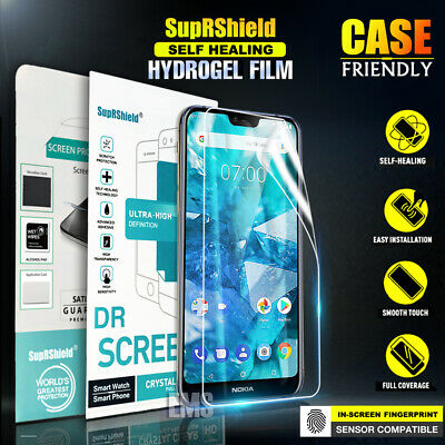 AU6.95 • Buy SupRShild Nokia 5.1 Plus Nokia 7.1 HYDROGEL Full Coverage Screen Protector Film