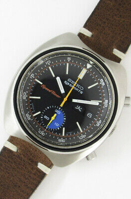 $ CDN2211.52 • Buy SEIKO SPEED-TIMER 6139-7020 Black Dial Automatic Vintage Watch 1971's Overhauled