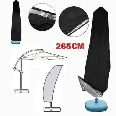 AU20.99 • Buy Outdoor Banana Umbrella Protective Cover Patio Garden Cantilever Parasol + Bag