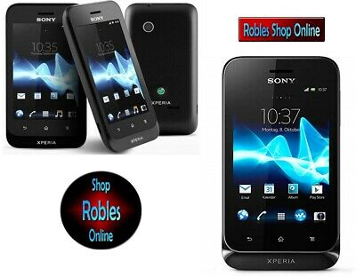 £84.22 • Buy Sony Xperia Tipo ST21i Black (Ohne Simlock) 3G WLAN GPS 3,2MP Android 4.0.4 TOP