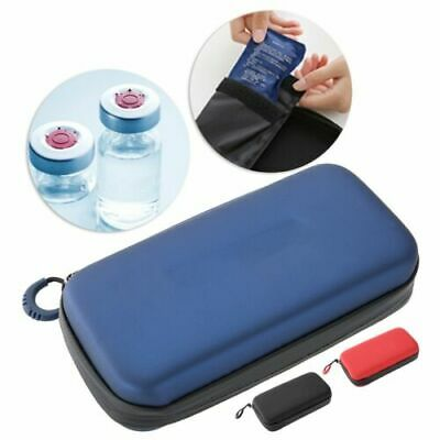 Portable Diabetic Insulin Cooler Bag Organizer Medical Cooling Travel Case Pouch • 7.73£