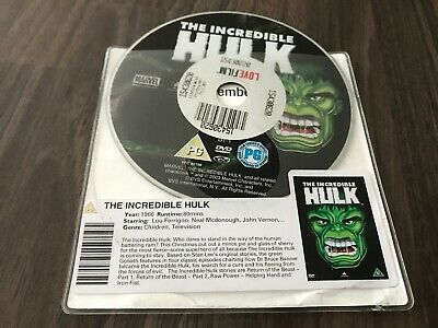 The Incredible Hulk (DVD, 1966) DISC ONLY • 1.99£