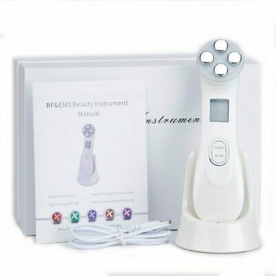 AU52.11 • Buy 5 In 1 LED Skin Tightening RF Radio Frequency Facial Machine Face Photon Pen New