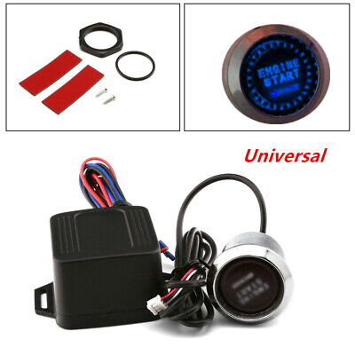 $15.49 • Buy 12V Car Engine Start Keyless Entry Push Button Switch Lgnition Starter Parts
