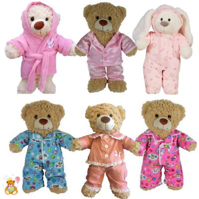 NIGHT TIME - PYJAMAS, PJ - 16  / 40cm TEDDY BEAR CLOTHES & BUILD YOUR OWN BEAR • 9.99£