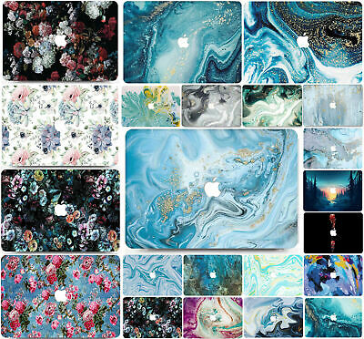 £15.99 • Buy Macbook Air Pro 11 12 13 15 16  Marble Hard Shell Case Cover Keyboard Cover MC