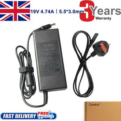 £10.99 • Buy For SAMSUNG R580 R530 R540 Laptop ADAPTER CHARGER POWER SUPPLY 19V 4.7A 90w TOP