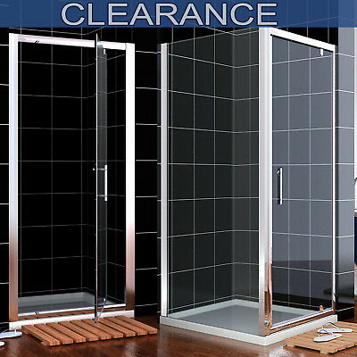 £249.99 • Buy Pivot Shower Door Enclosure Cubicle 6mm Safety Glass 700/760/800/860/900/1000mm