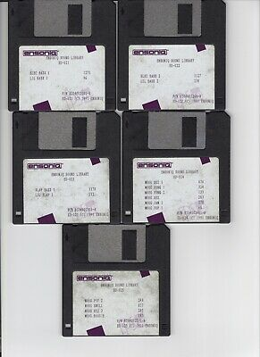 $25 • Buy Ensoniq Sl-2 Series Eps / Eps16+ / Asr 10/88 (5) Disk Set