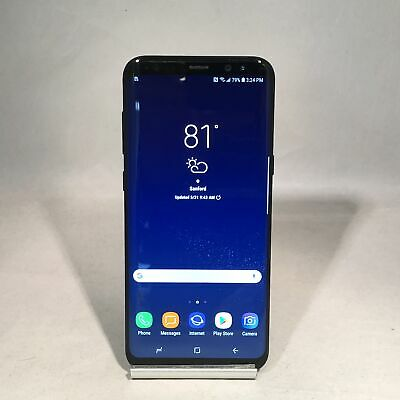 $ CDN195.25 • Buy Samsung Galaxy S8 Plus 64GB Midnight Black Verizon Unlocked Fair Condition