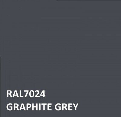 £16.45 • Buy RAL GRAPHITE GREY RAL 7024 Agricultural Tractor Machinery Enamel Gloss Paint