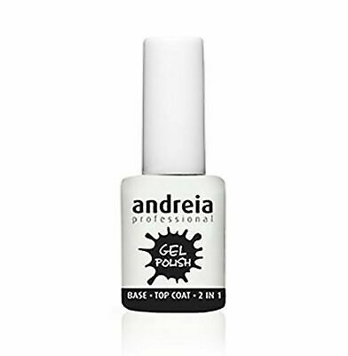 Andreia Professional - Nail Gel Polish - Base And Top Coat - 2 In 1 - UV / LED • 10.50£