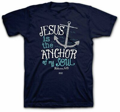 T-Shirt  Jesus Is The Anchor JXL (Ladies) • 7.23£