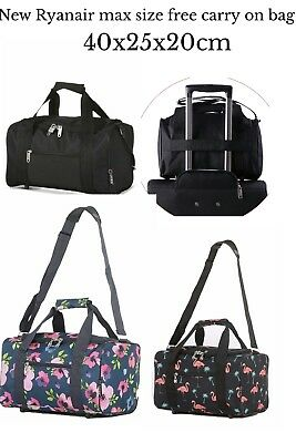 £10 • Buy Ryanair Size Carry On 40x25x20cm Flight Cabin Travel Holdall Sports Weekend Bag