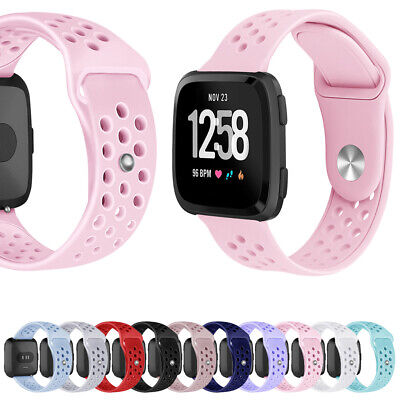 $ CDN12.65 • Buy For Fitbit Versa/Versa Lite Edition/Versa Special Edition Band Replace Silicone