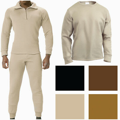 $20.99 • Buy ECWCS Military Fleece Thermals Extra Warm Winter Underwear Long Johns Base Layer
