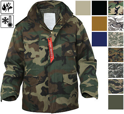 $94.99 • Buy Military M-65 Field Jacket And Liner, Tactical M65 Coat Uniform Army Camo