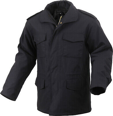 $96.99 • Buy Black Military M-65 Field Coat Army M65 Jacket With Liner