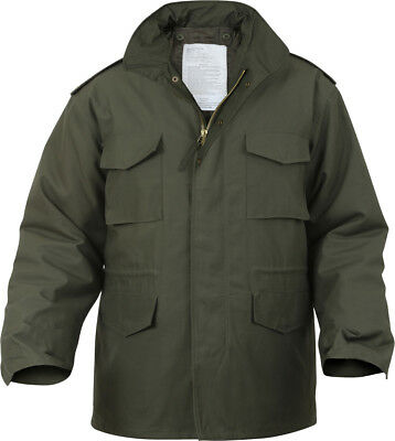$90.99 • Buy Olive Drab Military M-65 Field Coat Army M65 Jacket With Liner