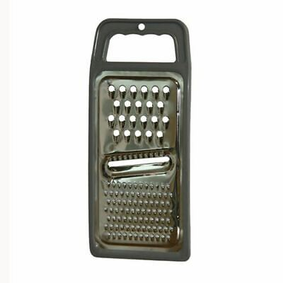 £4.95 • Buy Stainless Steel Kitchen Hand Held Flat Fruit Vegetable Cheese Grater Slicer Tool