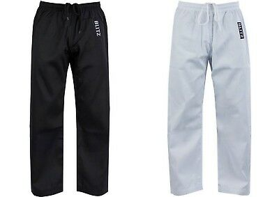 £9.98 • Buy Childs Polycotton Martial Arts Trousers For Karate, Taekwondo Etc. Only £9.99