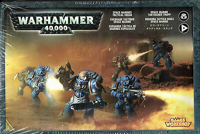 £34.30 • Buy Warhammer 40,000 - Space Marines Tactical Squad - Box With 10 Miniatures New
