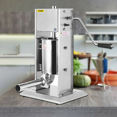 AU136.94 • Buy 3L Commercial Sausage Filler Stuffer Vertical Stainlesss Steel Salami Maker