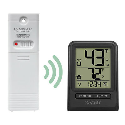 $19.95 • Buy 308-1409BT La Crosse Technology Wireless Thermometer With TX141-BV2 Sensor