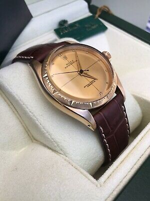 $ CDN5774.05 • Buy Rolex Vintage  Zephyr  Cal. 1030 Champagne Dial 14K Yellow Gold Model: 6582,1944