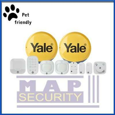 Yale Ia-340 -pf Sync Pet Friendly Family Alarm Kit,full App Control *new* • 480£