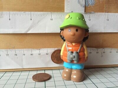 5982 Happyland Spare Used Figure- Camper Woman With Binoculars • 4.90£