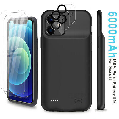 AU65.54 • Buy 6000mAh Battery Charger Case Power Bank Pack Easy Installation For Apple IPhone
