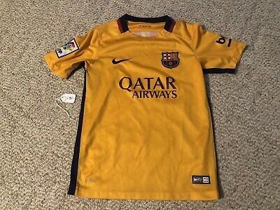 size 40 f4930 851ab barcelona youth jersey