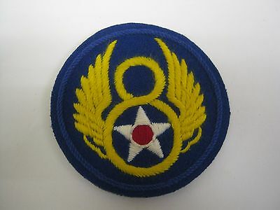 £8.99 • Buy  USAAF 8th Air Force BADGE - WW2 Repro American Airforce Patch/Insignia